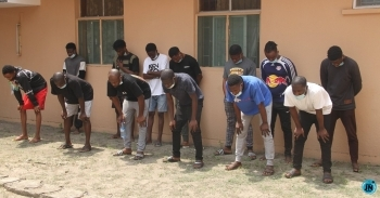 13 suspected internet fraudsters arrested in Lagos